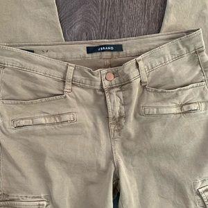 J brand low cut cargo pants